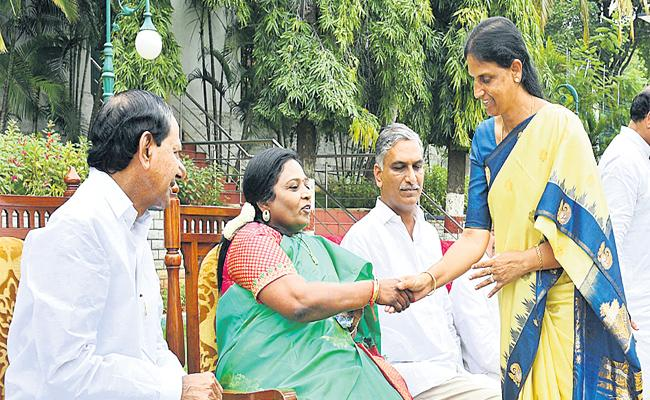 Third Time Sabita Indra Reddy Inducted Into Cabinet - Sakshi