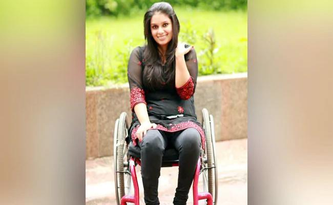 Woman On Wheelchair Asked To Stand At Delhi Airport - Sakshi