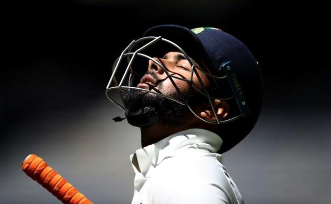 Pant Left Out Of Indias First Test Against South Africa - Sakshi