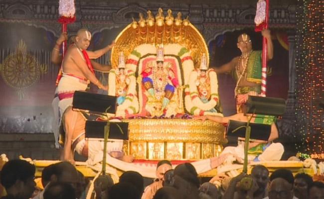 On Second Day, Srivari Brahmotsavam Celebrations At Tirupati - Sakshi