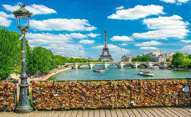 Paris Love Lock Bridge - Sakshi