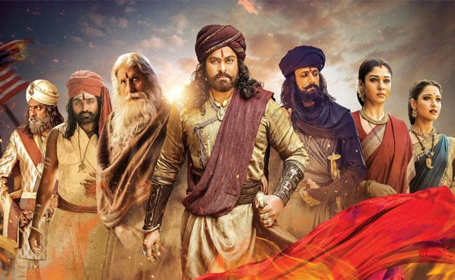 Chiranjeevi Sye Raa Reddy Movie Review and Rating by Umair Sandhu - Sakshi