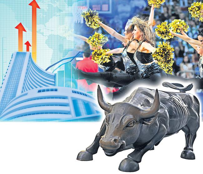 Sensex gains 646 pts, Nifty ends above 11,300 points - Sakshi