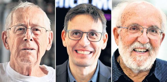 Nobel prize in chemistry awarded for work on lithium-ion batteries - Sakshi