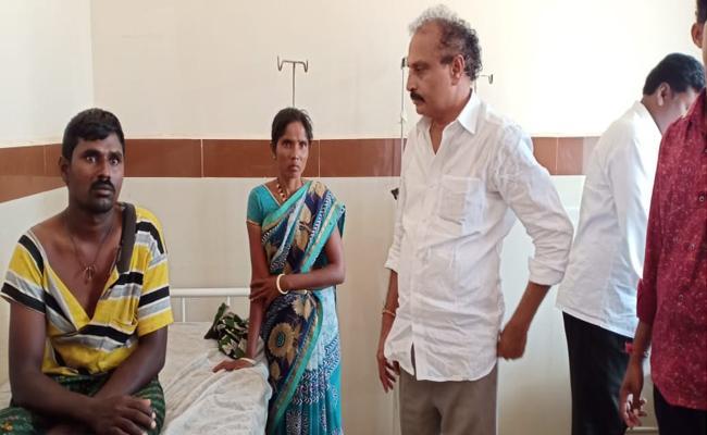 Payyavula Keshav Followers Violence In Anantapur  - Sakshi