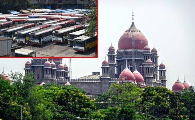 TSRTC Strike Telangana High Court Postpone Trials - Sakshi