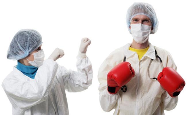 Cold War Between Government Hospital Doctors - Sakshi