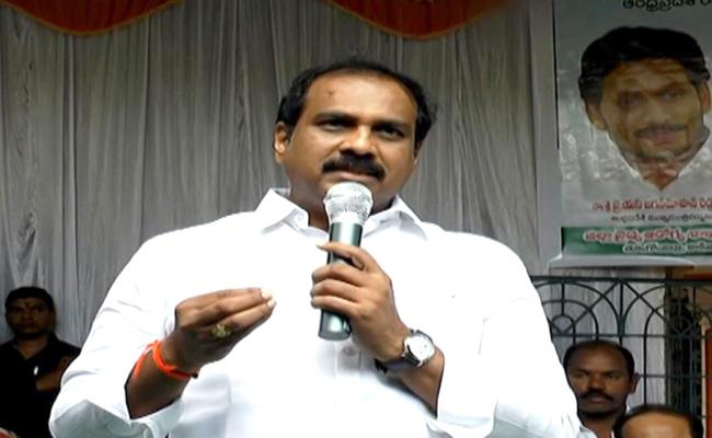 Kurasala Kannababu Slams TDP Over False Allegations - Sakshi