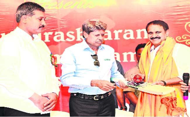 Cricketer Kapil Dev Speech In Guntur District - Sakshi