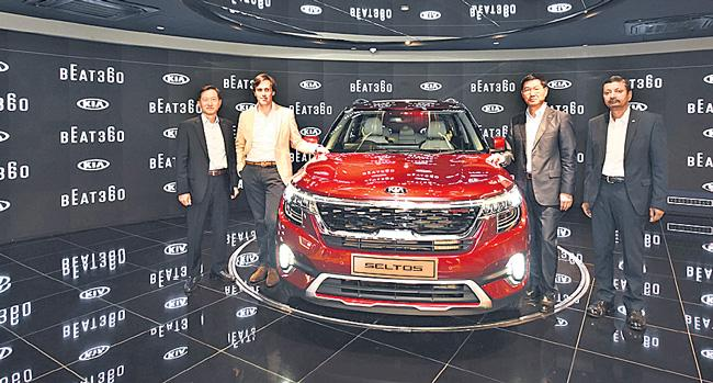 Kia motors launches BEAT360 brand experience centre in India - Sakshi