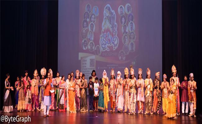 Impressive Draupadi Drama Show By Sarasija Theaters In Dallas - Sakshi