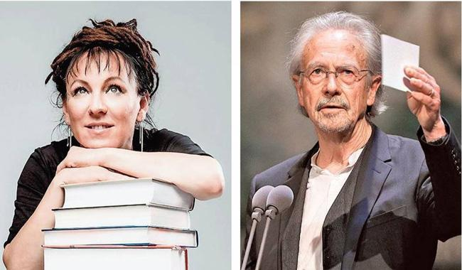 Poland Olga Tokarczuk and Austrias Peter Handke wins Literature Nobels - Sakshi