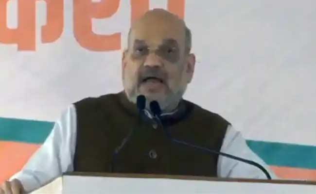 Amith Shah Slams Congress Party In Maharashtra - Sakshi
