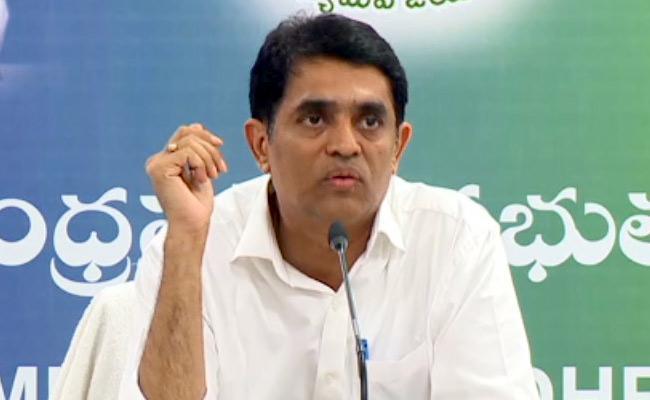 Buggana Rajendranath Reddy Slams Chandrababu Over Allegations On Power Finance - Sakshi