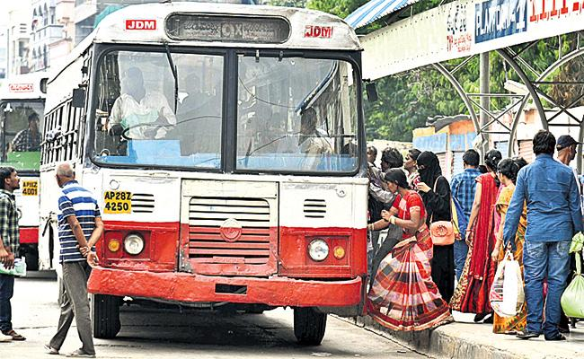 No Ticket Prices in TS RTC City Busses - Sakshi