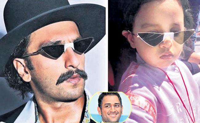 Indian Cricketers Daughter Photos In Social Media - Sakshi