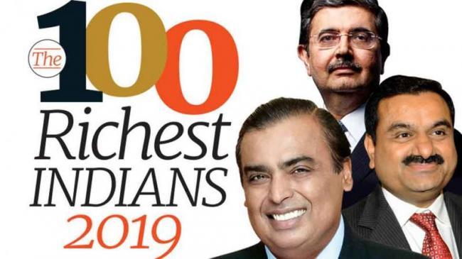 Mukhesh Ambani Tops Among Forbes India Rich List - Sakshi