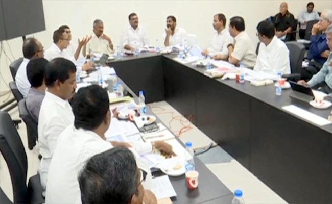 AP Ministers Review On Water Grid Project - Sakshi