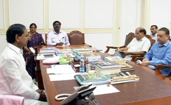 CM KCR Review Meeting On TSRTC Strike - Sakshi