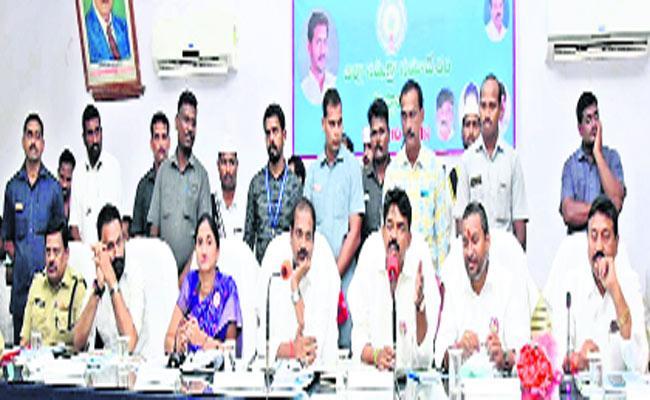 Zilla Parishad Meeting Has Made Three Hours By Kurasala Kannababu In Machilipatnam - Sakshi