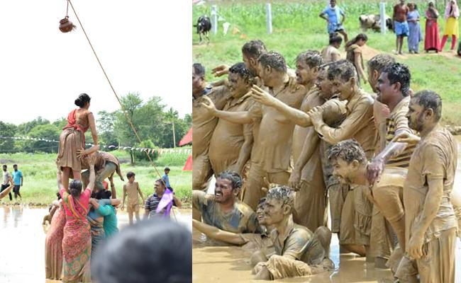 Variety Dasara Fest by Gouribadanur in Karnataka - Sakshi