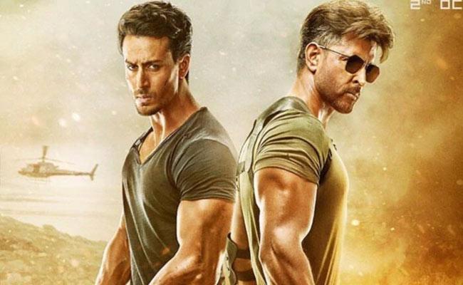 Hrithik Roshan And Tiger Shroff Film Eyes Rs 250 Crore By War Movie - Sakshi