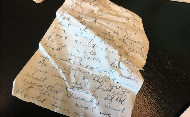 100 Years Old Love Letters Of A Soldier - Sakshi