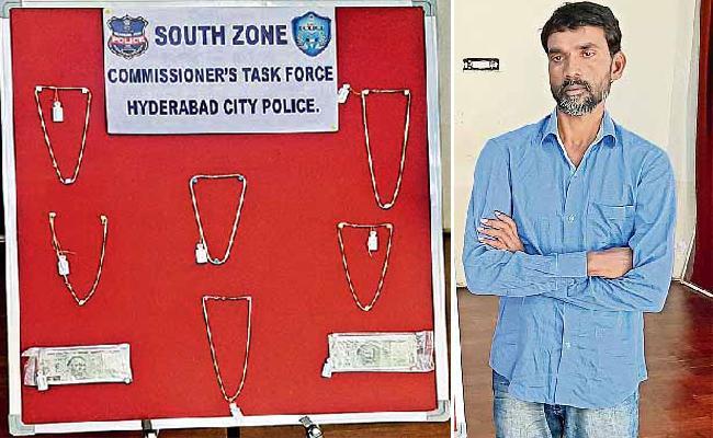 Pick Packeter Arrest in Hyderabad - Sakshi