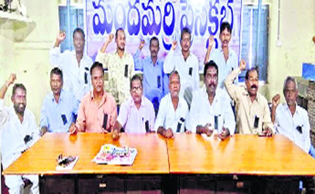 Singareni Labours Union Supports To RTC Strikes In Adilabad - Sakshi