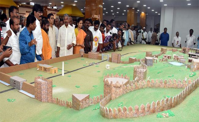 Kondaveedu Will Be Transformed Into A World Tourist Destination Said Minister Buggana - Sakshi