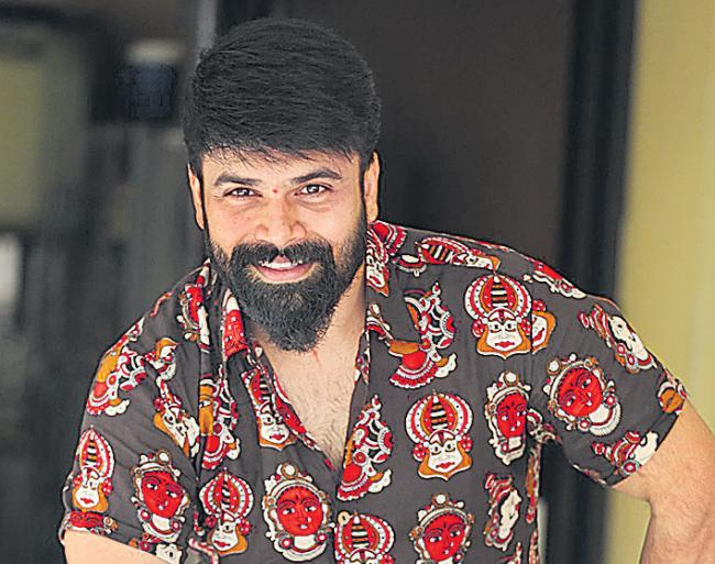 Ashwin Babu at Raju Gari Gadhi 3 Interview - Sakshi