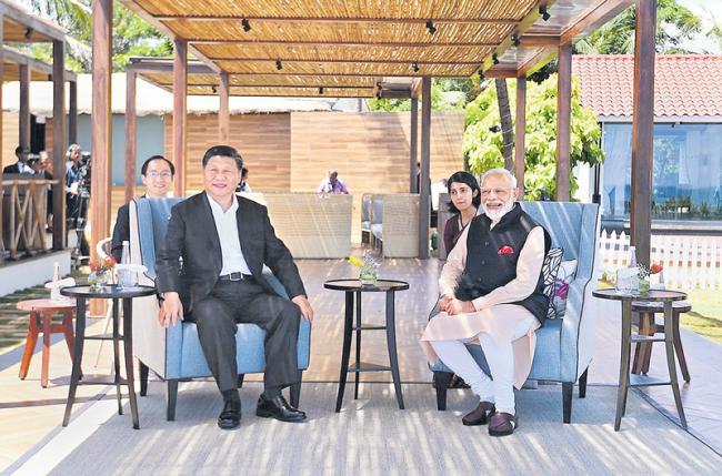 Start of new era in India-China relations - Sakshi
