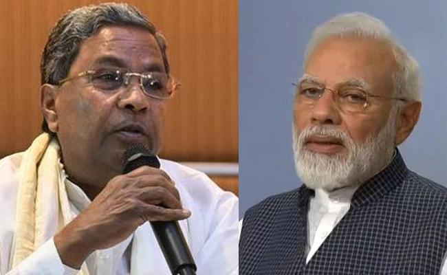 Siddaramaiah Hits Out At Narendra Modi - Sakshi