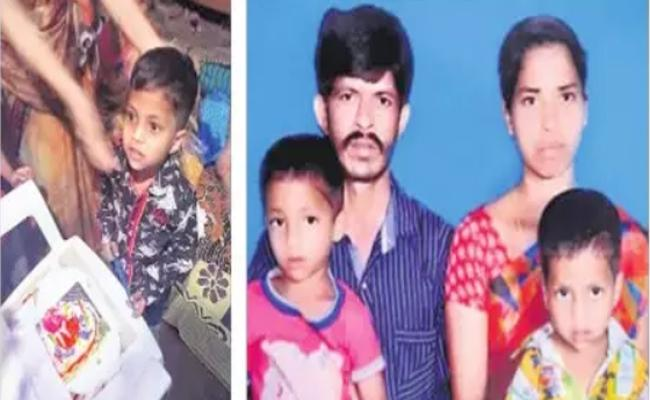 Father Attempt To suicide With two Childrens In Medchal - Sakshi