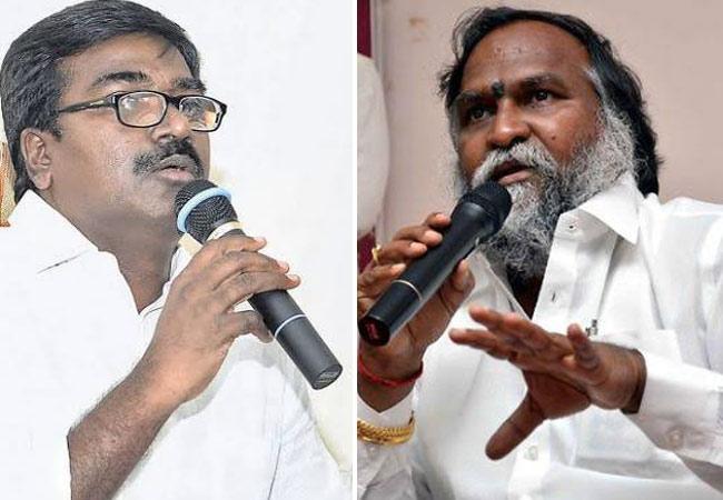 Jagga Reddy Warn Minister Puvvada Ajay Kumar over TSRTC Strike - Sakshi