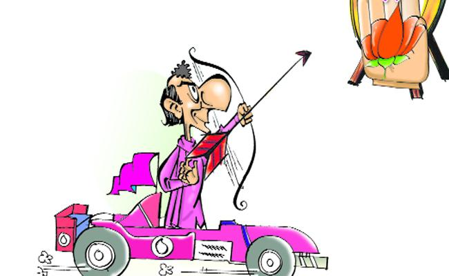 TRS Targets On Congress And BJP Party - Sakshi