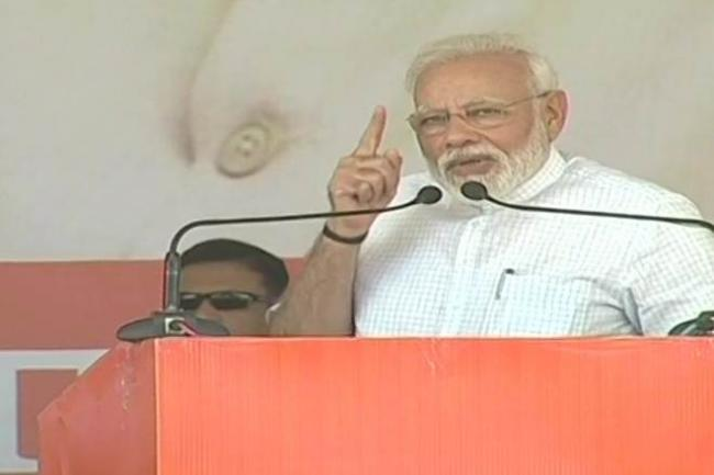 PM Modi To Address Four Rallies In Haryana   - Sakshi
