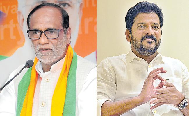 K Laxman And Revanth Reddy Comments On Srinivas Reddy Death - Sakshi