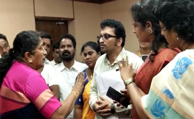 Nannaya University Assistant Professor Surya Raghavendra Suspended - Sakshi