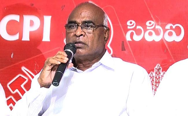 Huzurnagar Bypoll CPI Decides To Withdraw Support To TRS - Sakshi