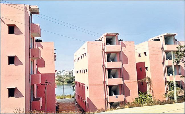 Delayed Double Bedroom Housing Scheme in Hyderabad - Sakshi