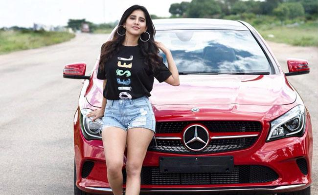 Ismart Shankar Movie Heroine Nabha Natesh Full Craze On Youth - Sakshi
