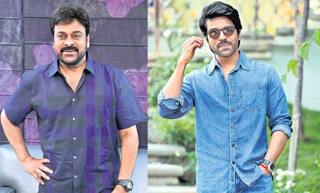 Chiranjeevi and Ram Charan to act in Koratala Siva new film - Sakshi