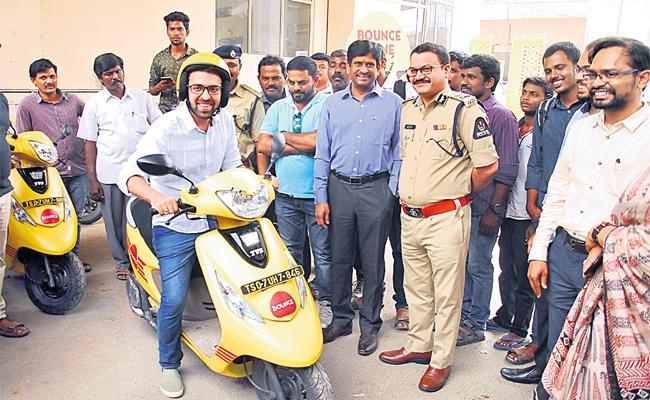 Bounce Bikes Service Start in Hyderabad - Sakshi