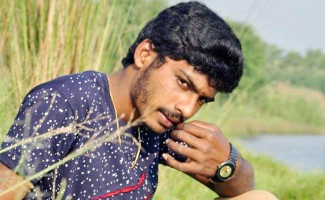 Young Man Died in Water Fall East Godavari - Sakshi
