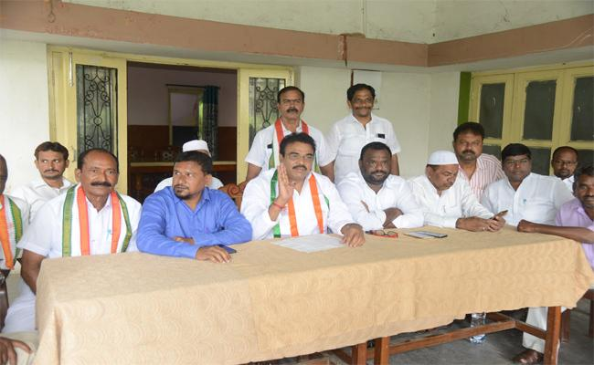 Congress Leaders Alleged That Government Has Planned To Conspiracy Of RTC Assets - Sakshi