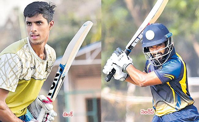 Hyderabads Third Defeat In Vijay Hazare Trophy - Sakshi