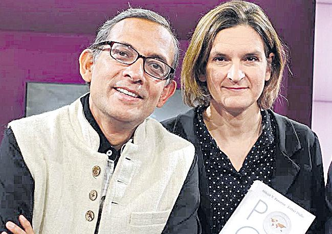 Indian-American MIT Prof Abhijit Banerjee and wife win Nobel Prize - Sakshi