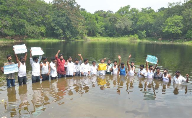 OU JAC Jala Deeksha In Support Of TSRTC Strike - Sakshi