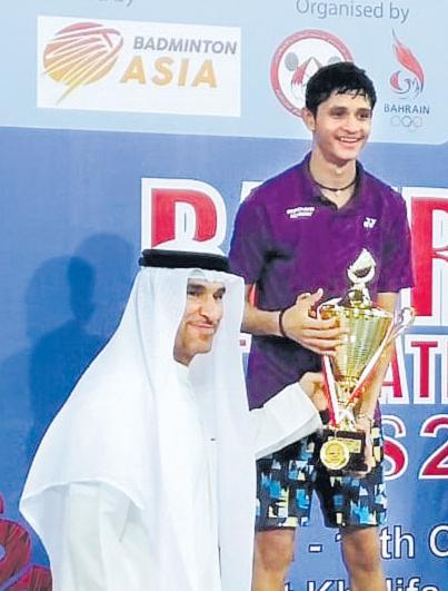 Priyanshu Rajawat Emerges Champion Of Bahrain Badminton Series - Sakshi